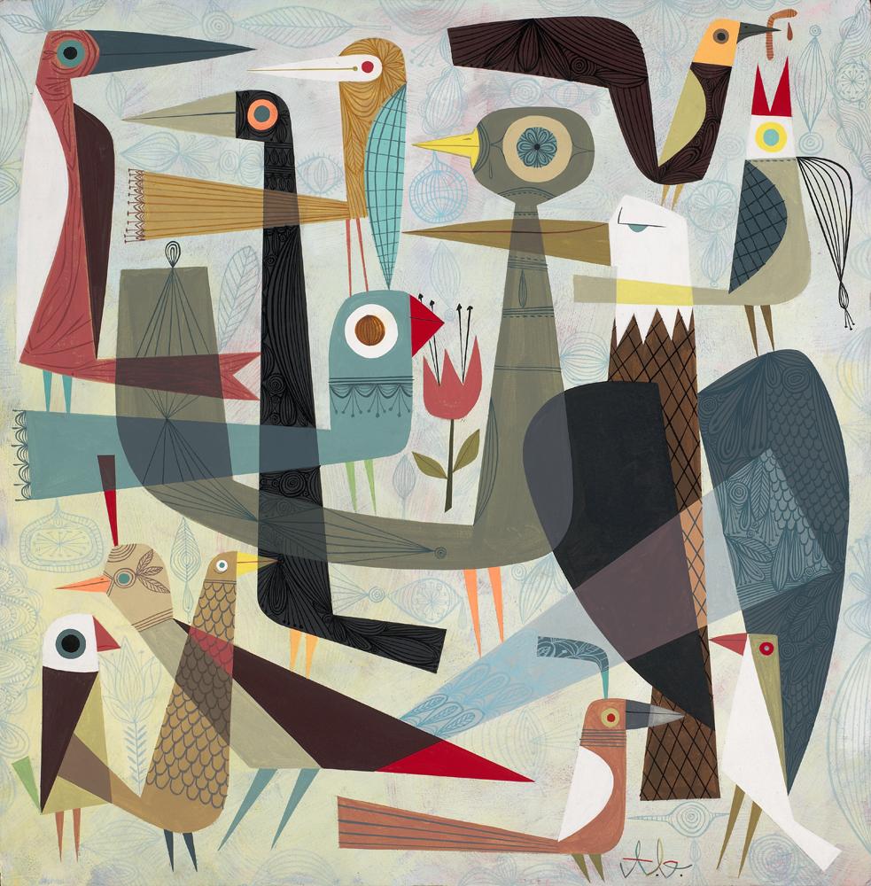 A Volary of Birds