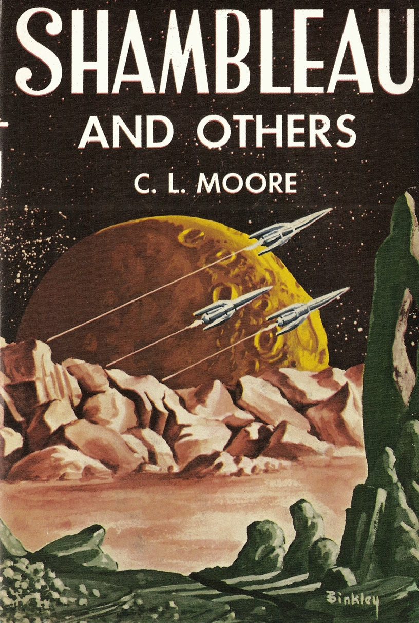 "Shambleau and Others by C.L.Moore 1953. My ""First Edition Library"" reprint of the First Edition from 1981."