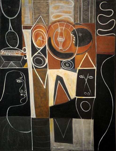 Alkahest Of Paracelsus, * 1945 * Adolph Gottlieb, American, 1903–1974. MFA, Boston via