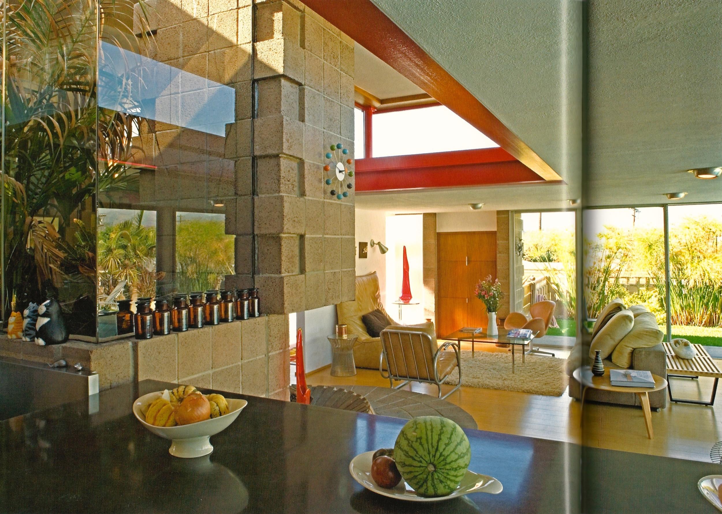 Bubeck House, Allyn E. Morris architect, 1956