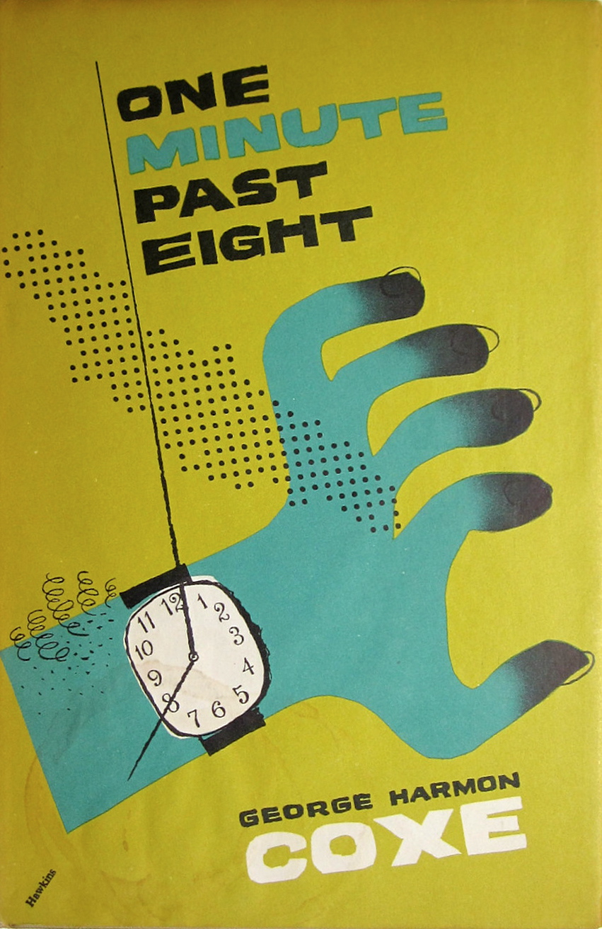 One minute past eight by George Harmon Coxe 1957