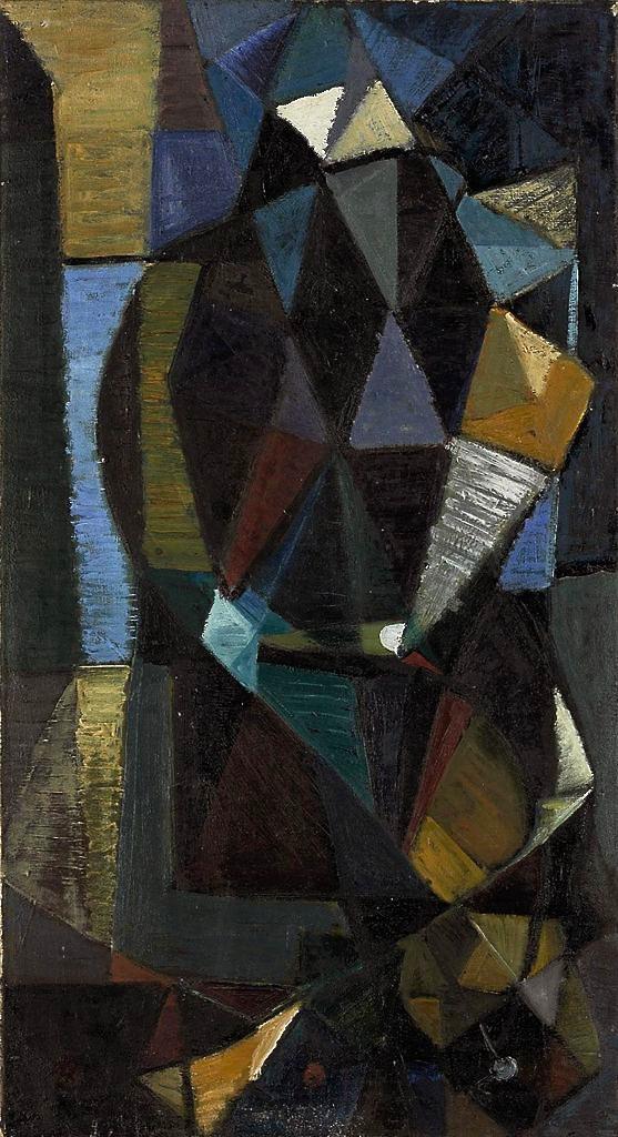 Terry Frost | Battersea flower seller 1948
