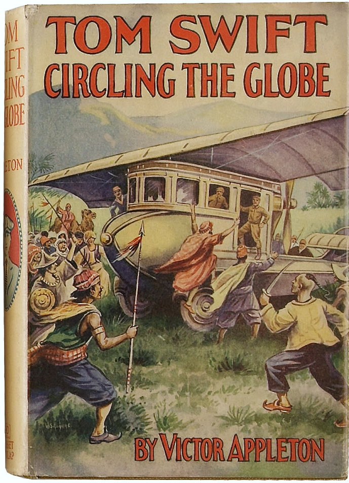 Tom Swift Circling the Globe. New York: Grosset & Dunlap Publishers, 1927.