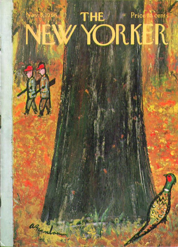 New Yorker 1966Abe Birnbaum
