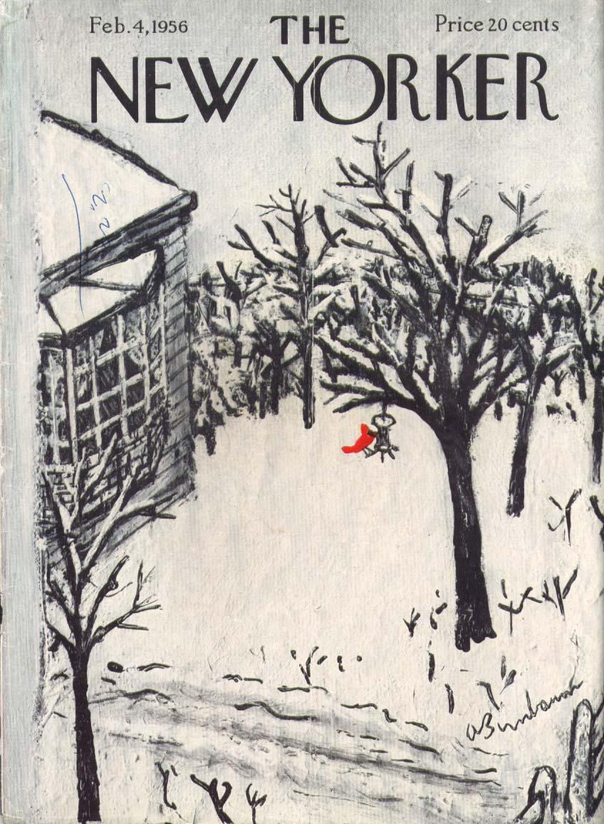 New Yorker Feb 4, 1956 Abe Birnbaum