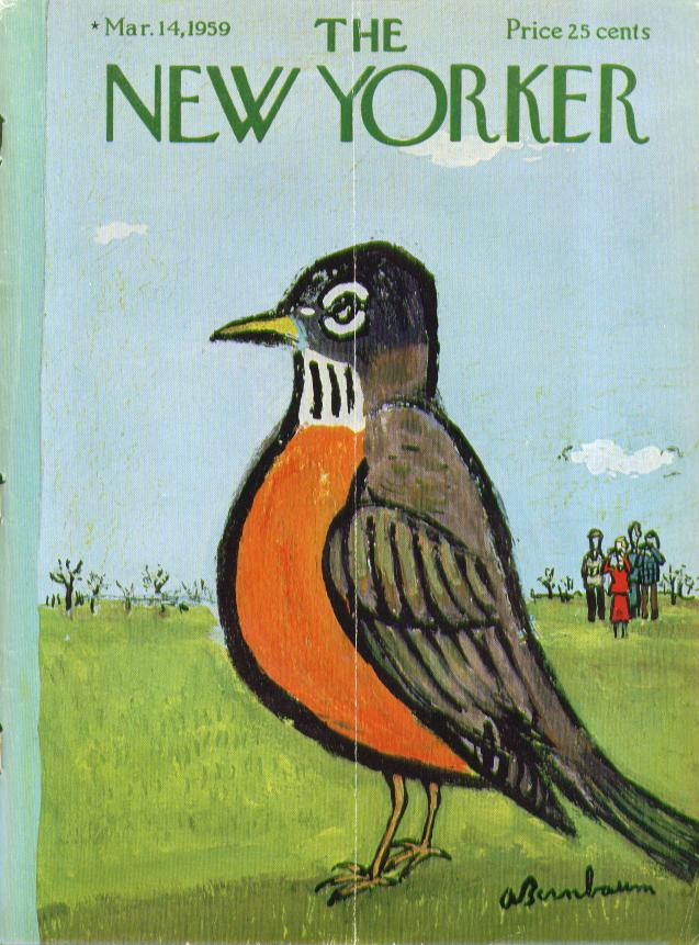 New Yorker March 14, 1959 Abe Birnbaum