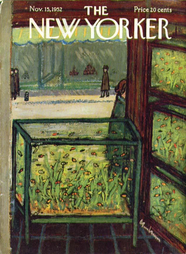 Nov. 15, 1952 New Yorker by Abe Birnbaum
