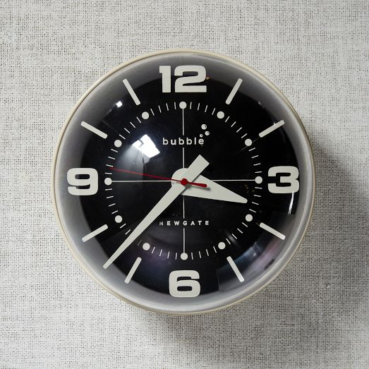 Newgate Bubble Wall clock. via  West Elm