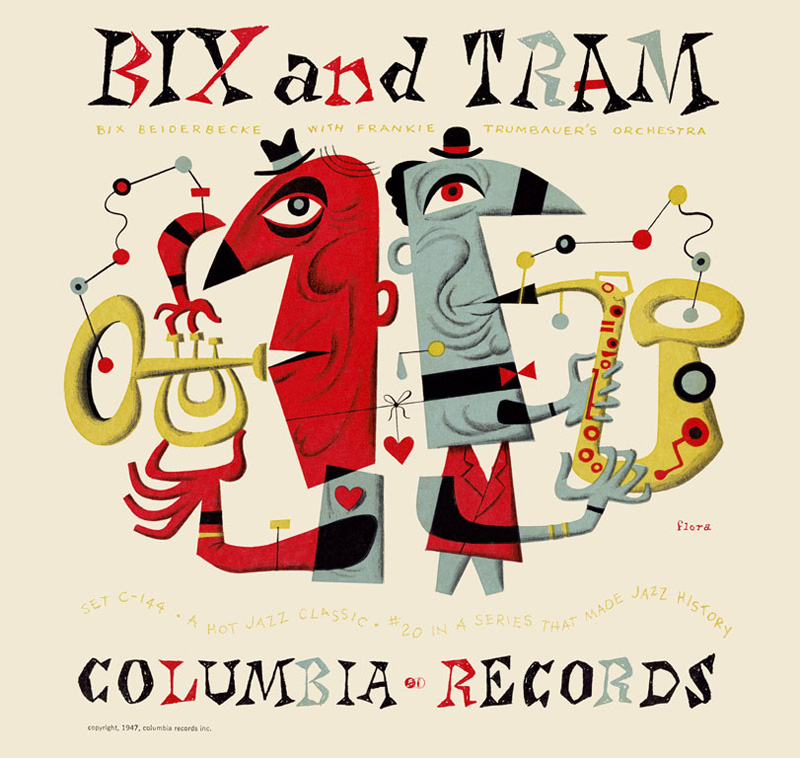 Bix and Tram for Columbia records