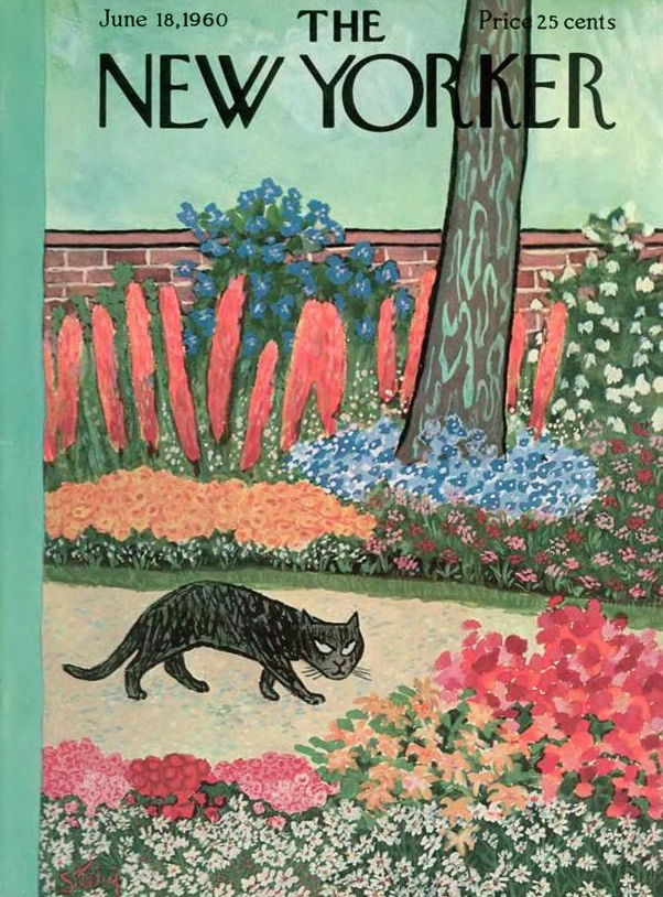 This is my favorite: June 18, 1960 New Yorker | William Steig