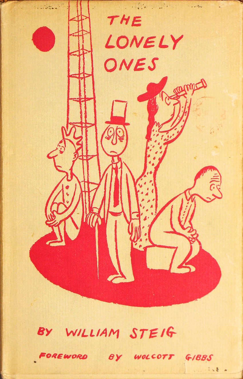 The Lonely ones by William Steig 1942 via  Etsy  $25.00