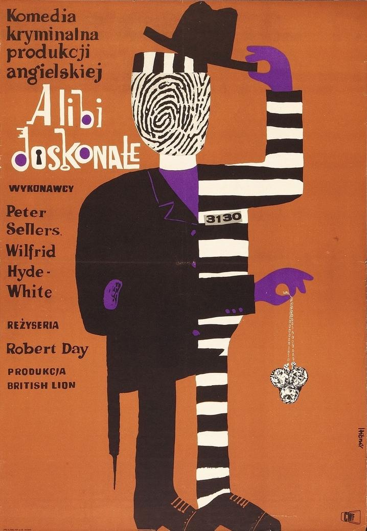 Maciej Hibner | Alibi Doskonale (Two Way Stretch) 1963. British (British Lion), 1960. Director: Robert Day. Starring Peter Sellers, Wilfrid Hyde-White.
