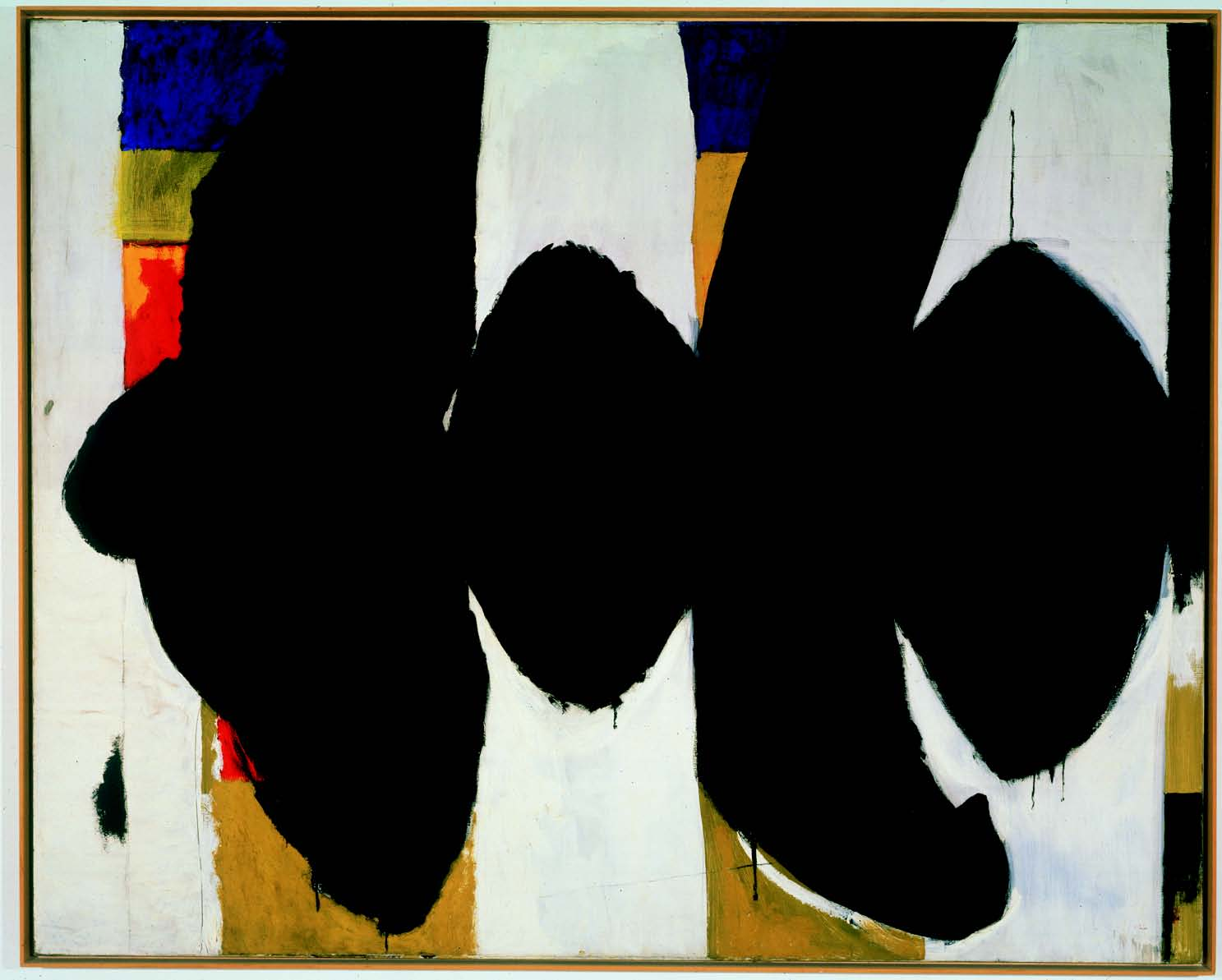 Elegy to the Spanish Republic No. 34 by Robert Motherwell (1953-54)