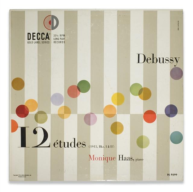Debussy, 12 Etudes for Decca Records