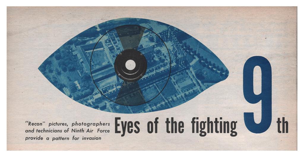 Magazine illustration, Eyes of the fighting 9th