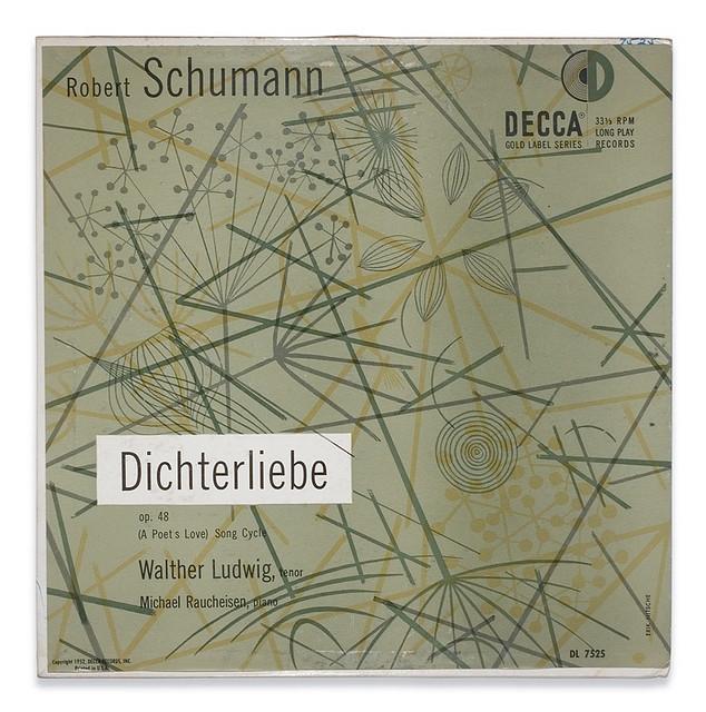 Schumann Dichterliebe for Decca Records
