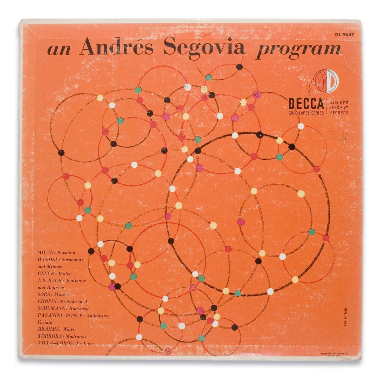 Segovia for Decca Records