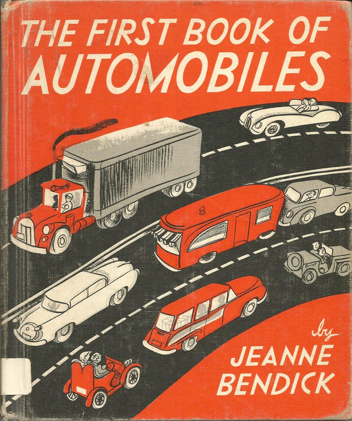 1955 The First Book of Automobiles available here for a mere 7 bucks.