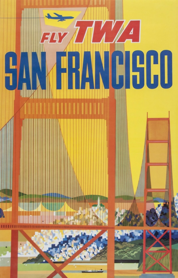 David Klein |FLY TWA, SAN FRANCISCO 1958