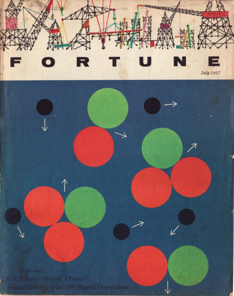 June 1957 Cover by Lio Lionni & Howard Low