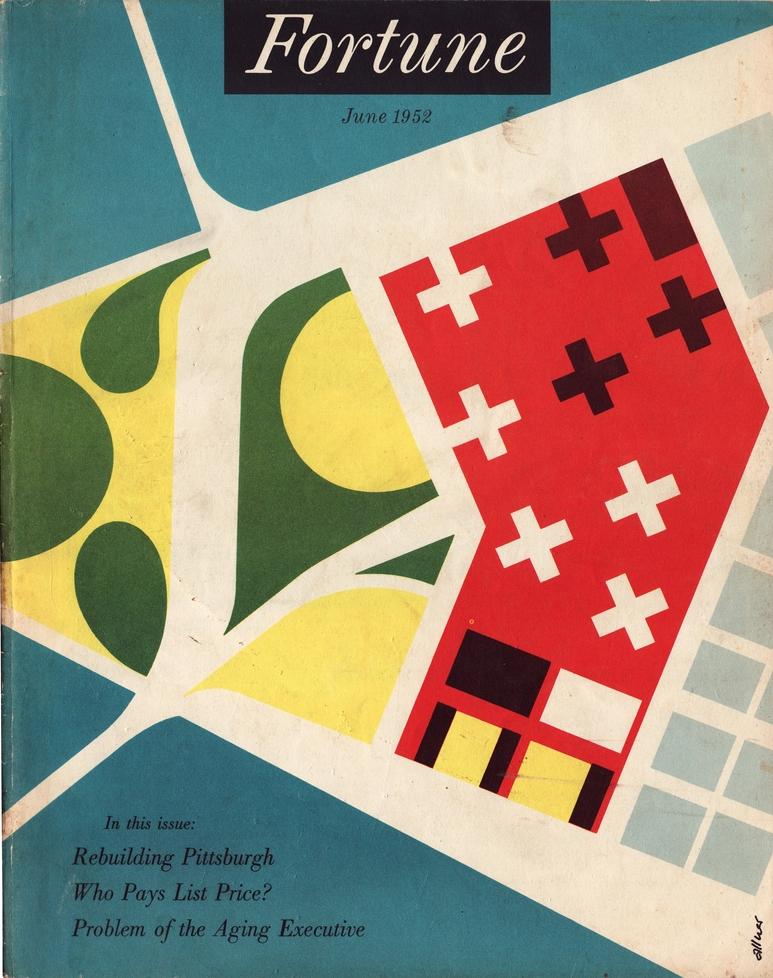 June, 1952Cover by Walter Allner
