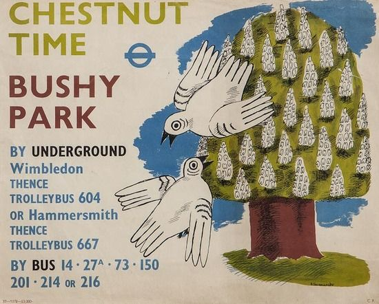 Poster for the London Transport