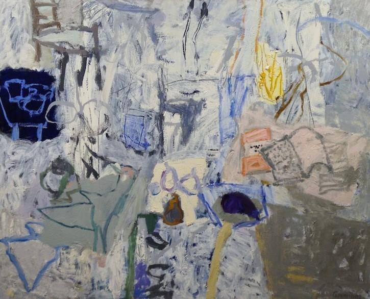 White Still Life2013Oil on Canvas101x126cm via Kingstreetgallery.com