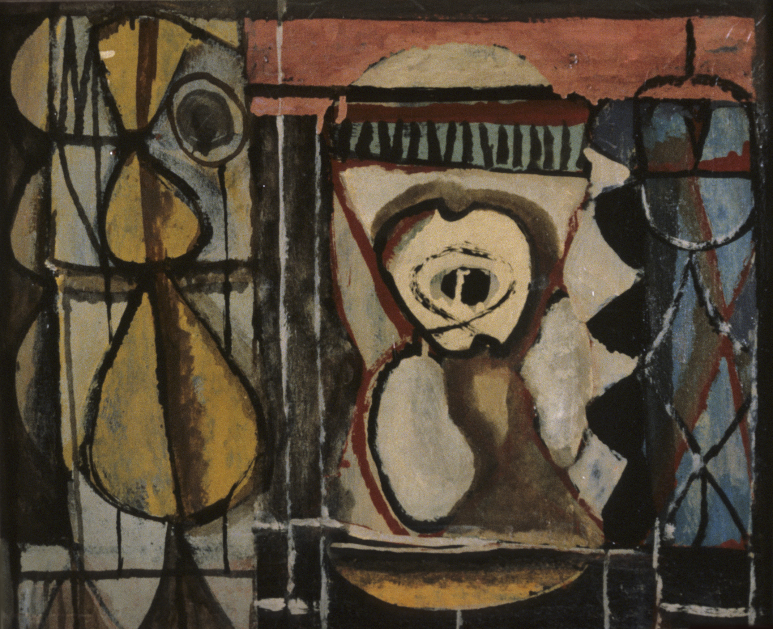 William Baziotes, The Schoolroom, 1943. Eli and Edythe Broad Art Museum, Gift of Clement Greenberg. © William Baziotes