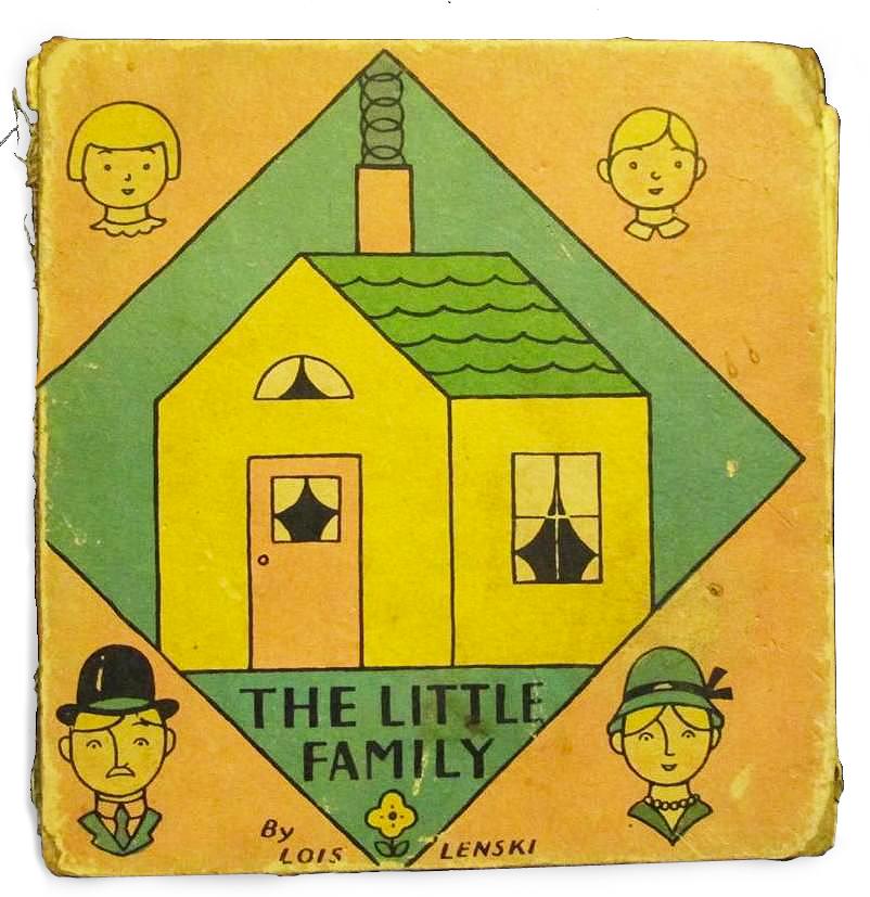 The Little Family by Lois Lenski 1932 via  eBay