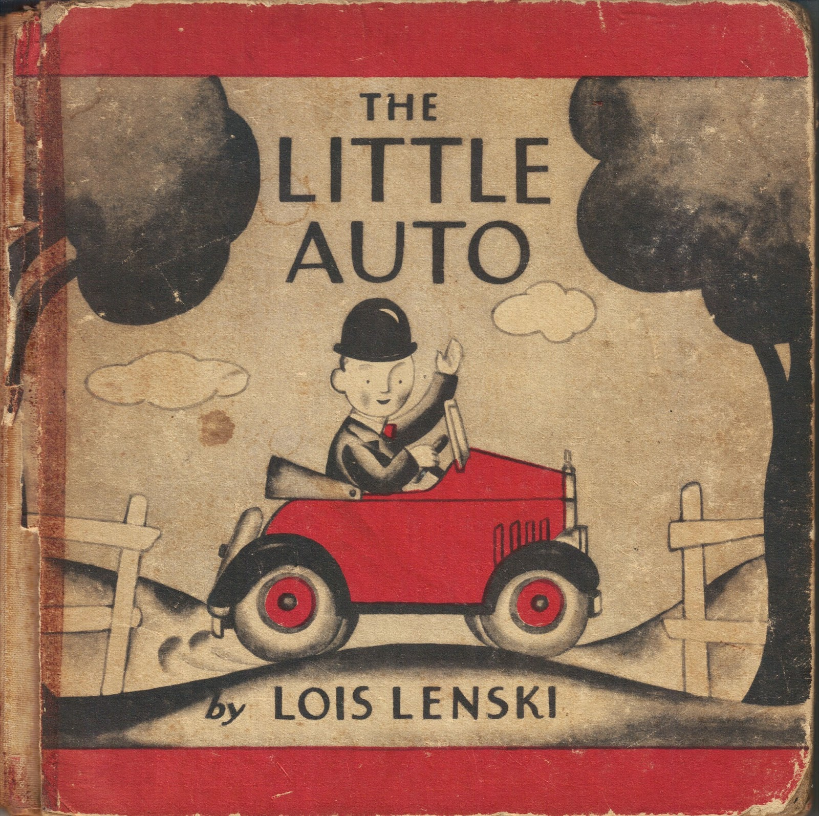 The Little Auto by Lois Lenski via  Brickbatbooks.com