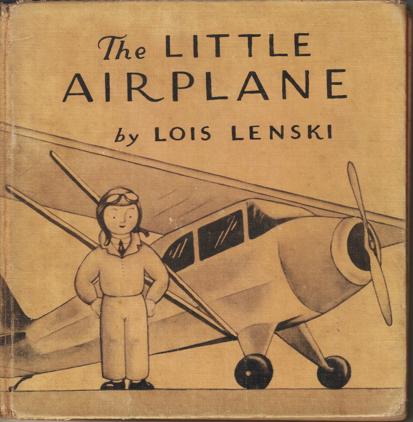 The Little Airplane by Lois Lenski. New York: Oxford University Press, (1938)