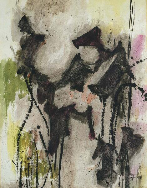 Alma Thomas,  Untitled , 1960