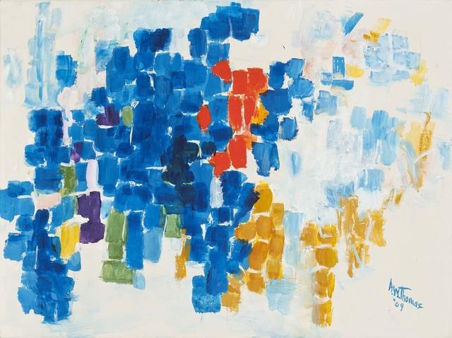 Alma Thomas, 'Fall Approaching,' 1969, Michael Rosenfeld Gallery