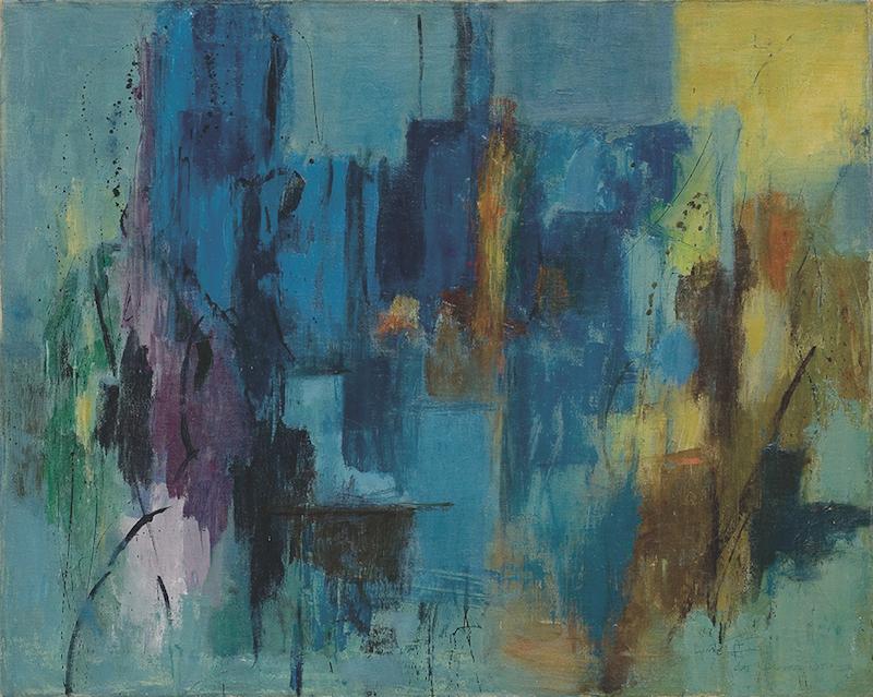 Alma Thomas, Untitled , ca. 1960, oil on canvas.