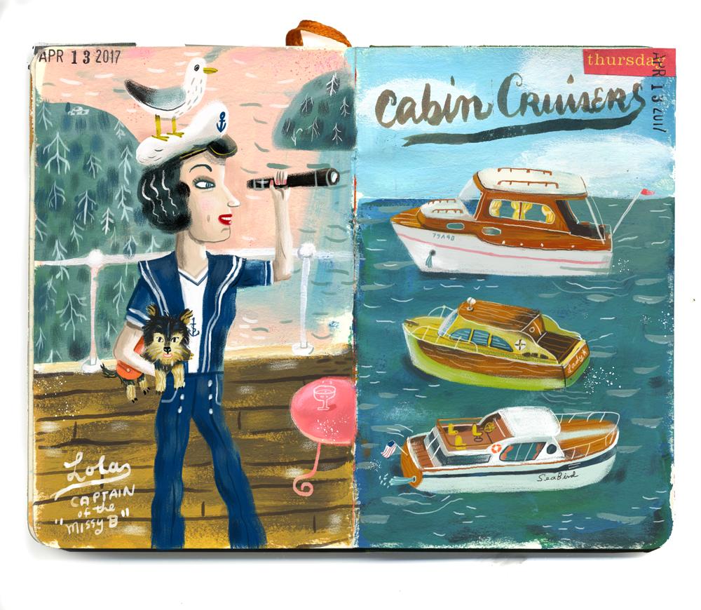 Lola & the cabin cruisers