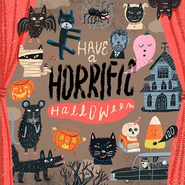 Wooooooo 👻 Happy Halloween! 🎃 #halloween #haunted #blackcat #ghost
