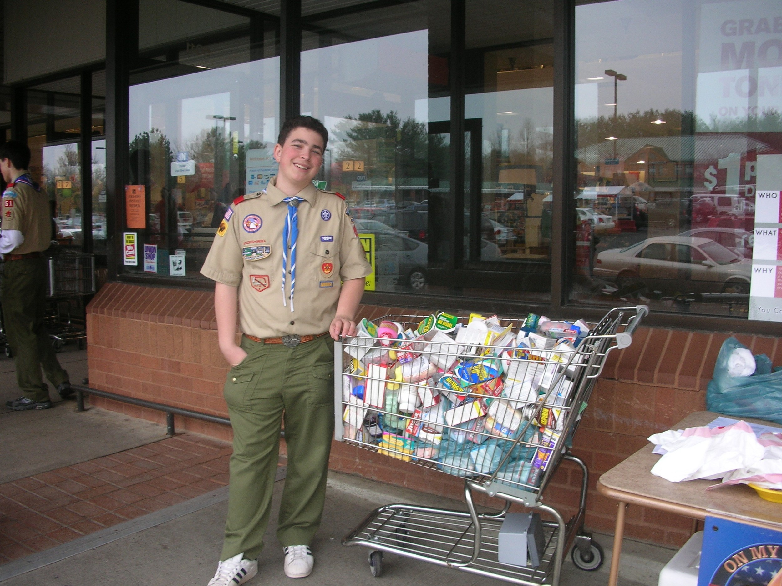 Are you looking for Boy Scout Eagle Project, Girl Scout Gold Award Project,  or Youth Group Project.  Learn more .