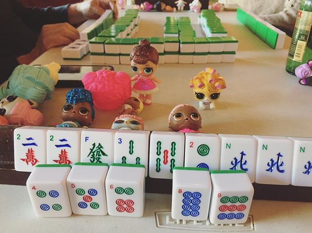 #loldolls + #mahjong 😬