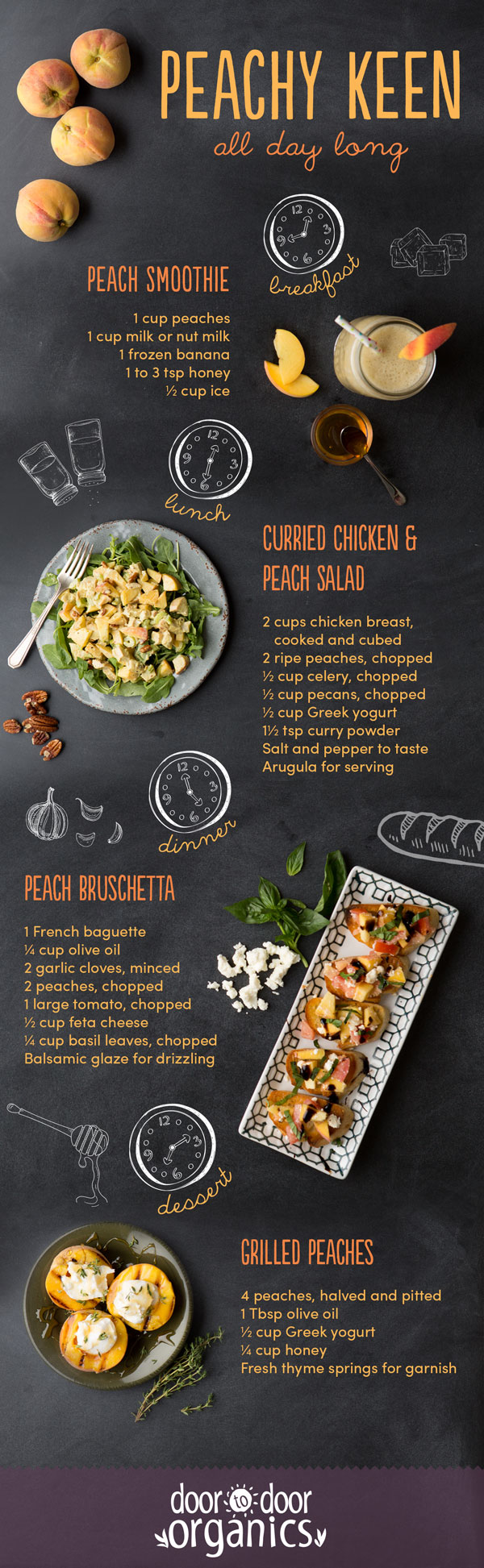 Peachy Keen Infographic