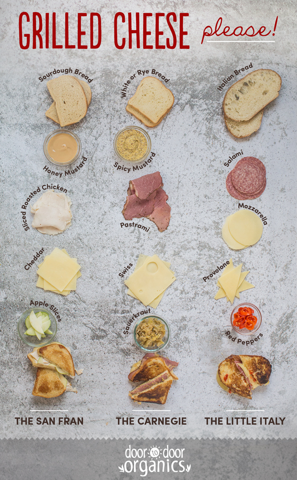 Grilled Cheese Infographic