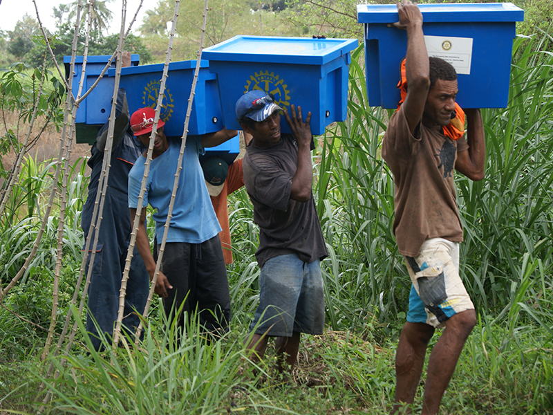 Lifesaving deliveries in remote Fiji