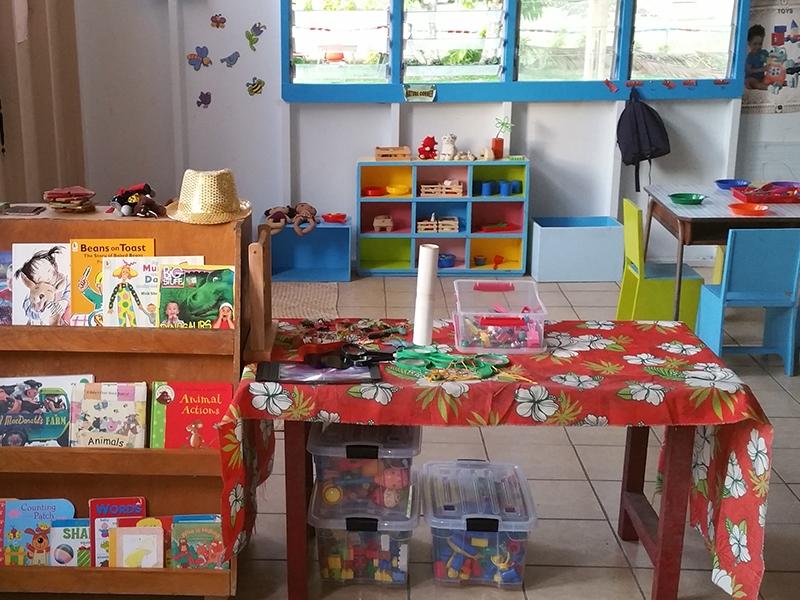 Children get head start in Fiji