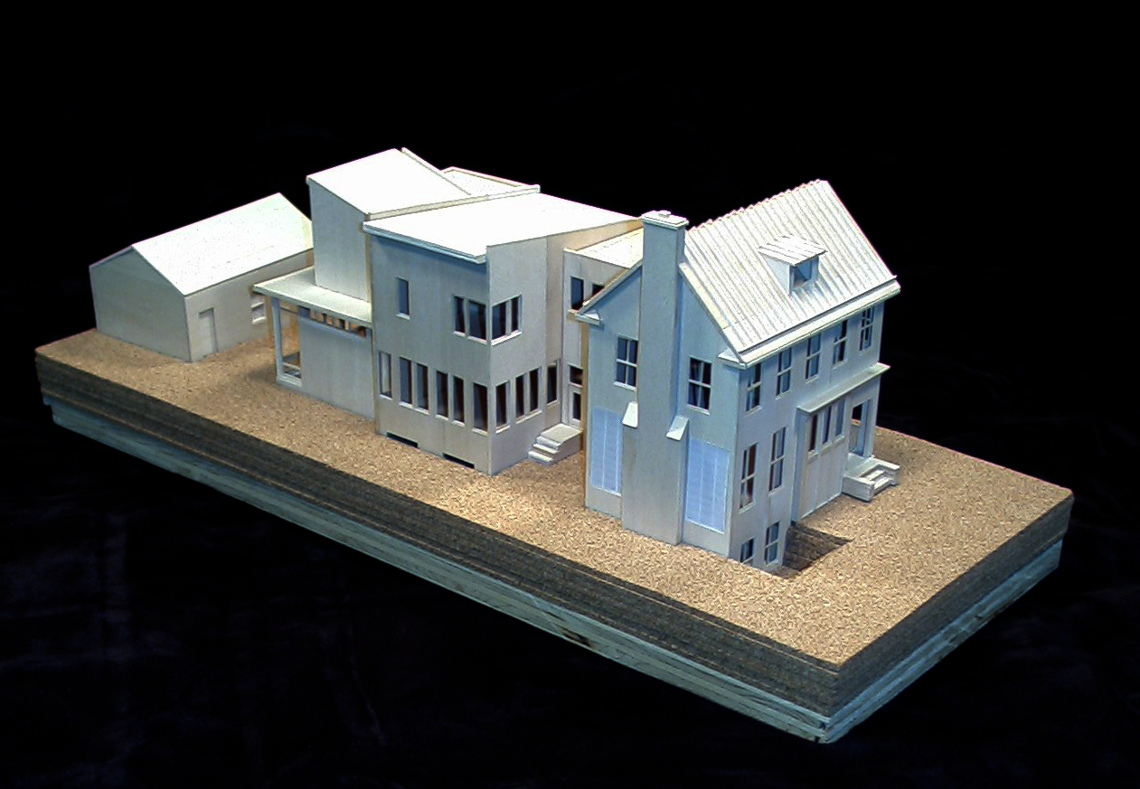 Model showing entire home