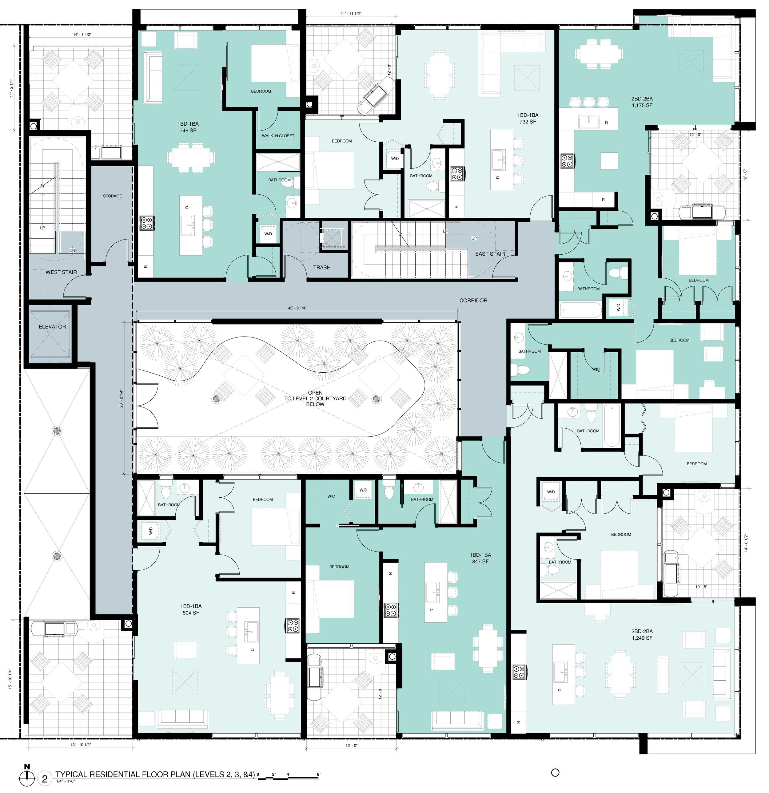 05 - TYPICAL RESIDENTIAL FLOOR PLAN (LEVELS 2, 3 & 4) for blog.jpg