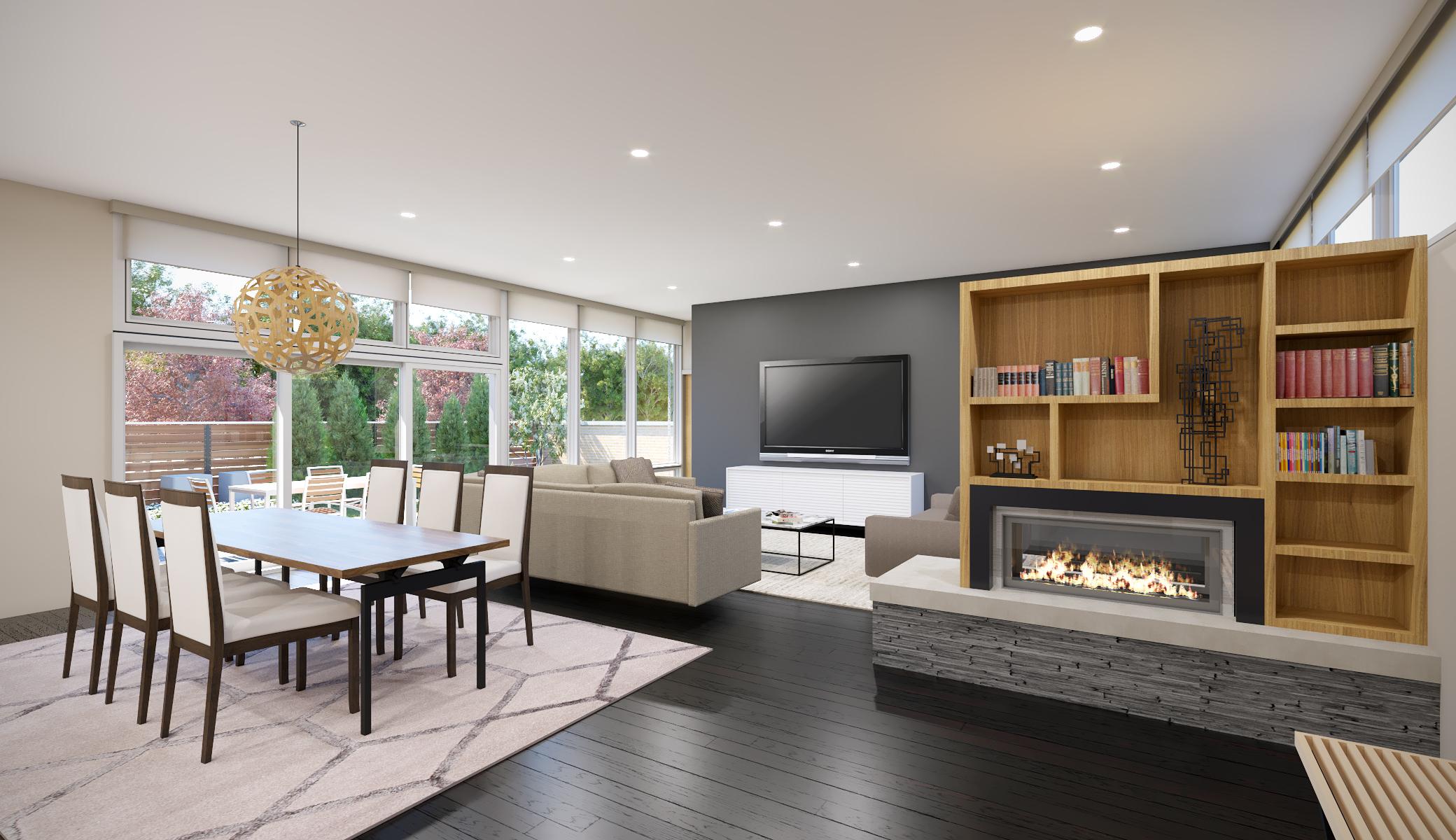 HP Modern - Living/Dining