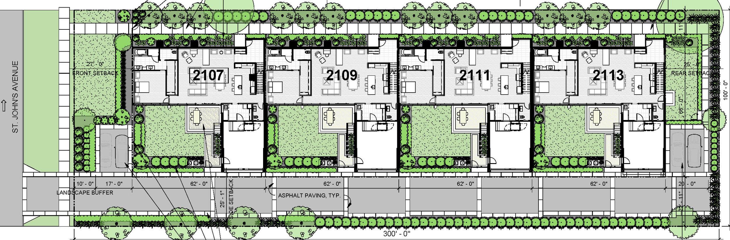 HP Modern - Site Plan