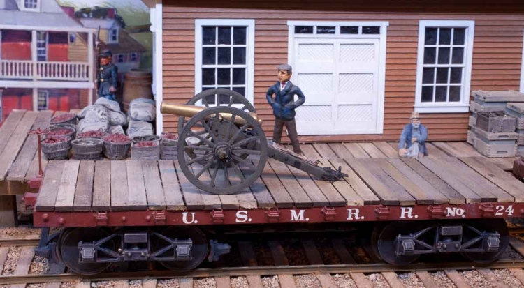 Order now from the O Scale Artillery page.