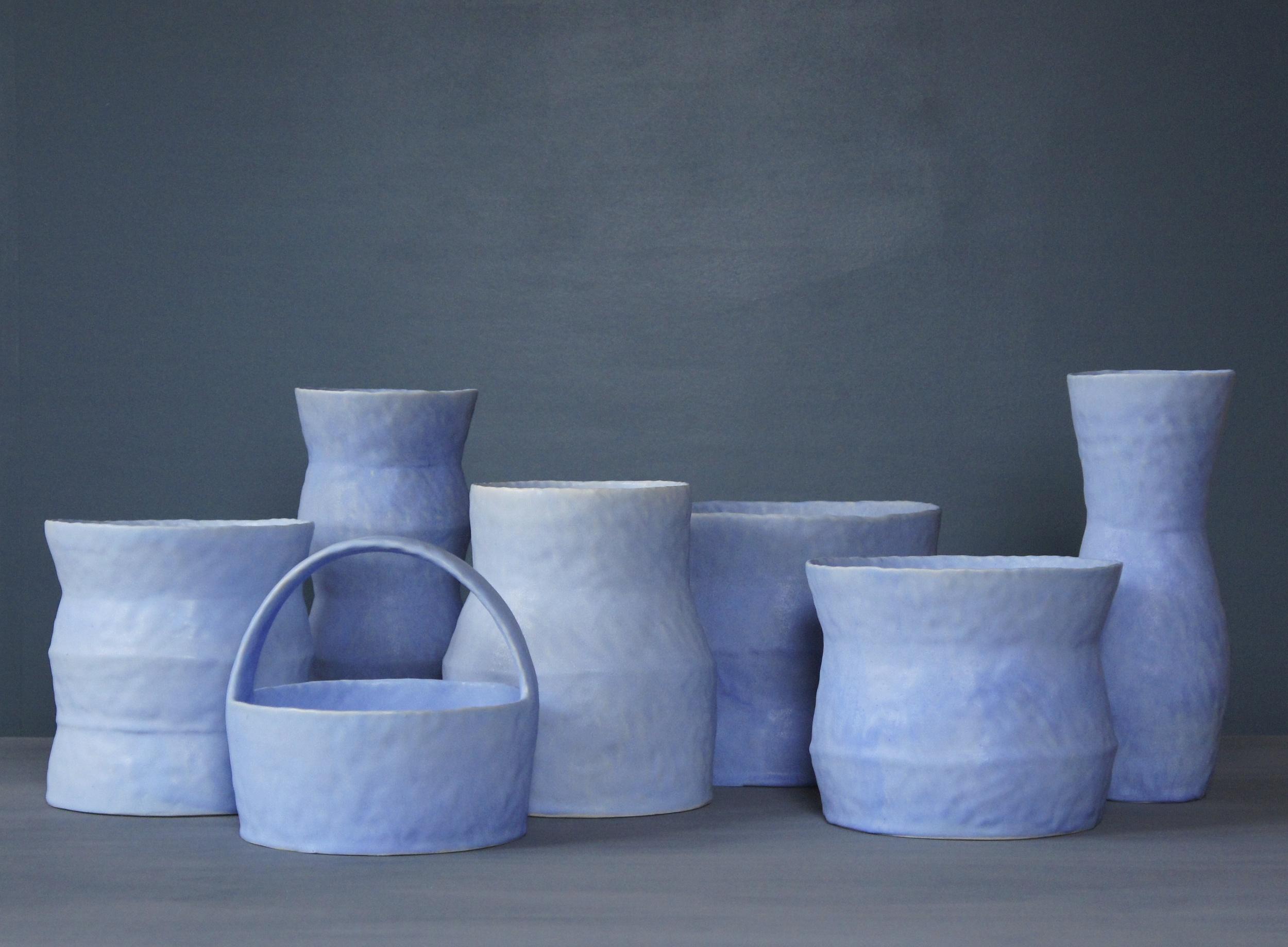 Pale Blue Vessels