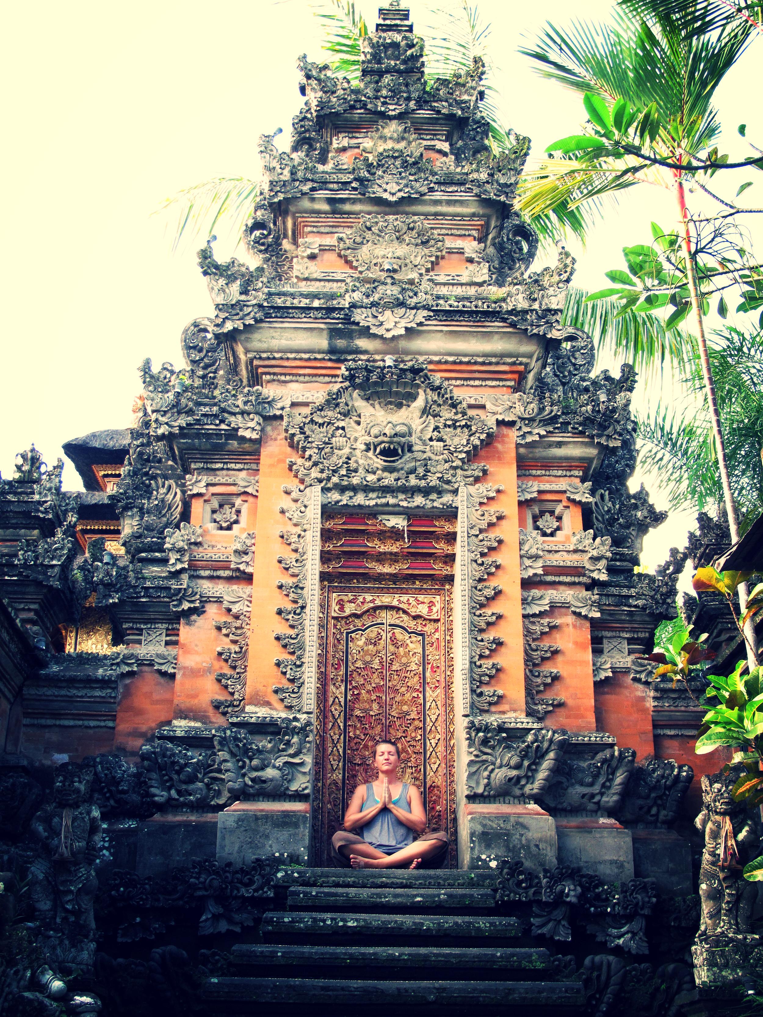"""Gates of Wisdom"" - Saraswati Temple, Ubud, Bali"