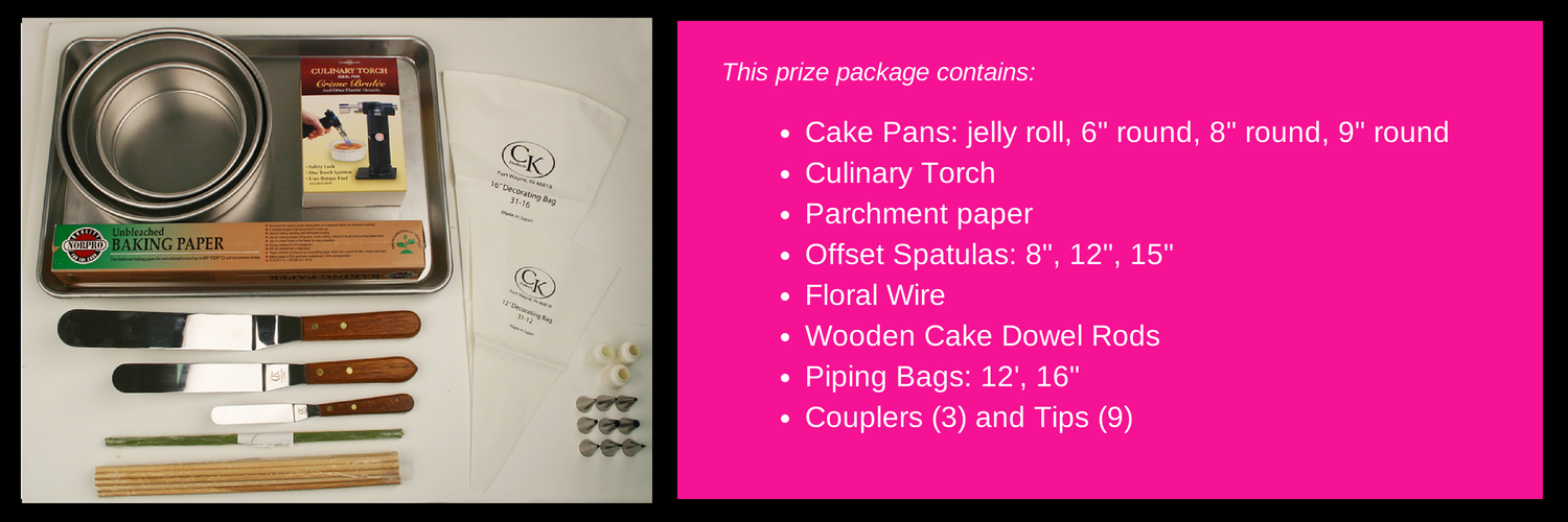 Enter below to win the prize package listed above valued at $100. This package will be awarded on September 4.
